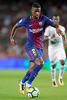 FC Barcelona's Nelson Semedo during Joan Gamper Trophy. August 7,2017. (ALTERPHOTOS/Acero)