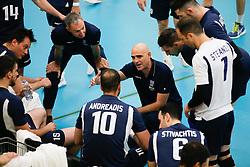 20170524 NED: 2018 FIVB Volleyball World Championship qualification, Koog aan de Zaan<br />Konstantinos Arseniadis, headcoach of Greece <br />©2017-FotoHoogendoorn.nl / Pim Waslander