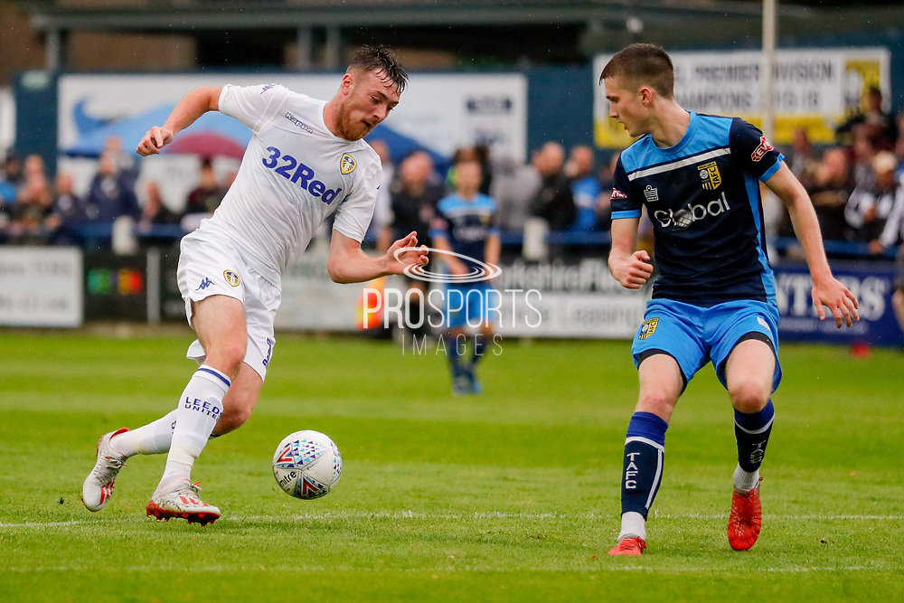 Leeds United Ryan Edmondson (14)  during the Pre-Season Friendly match between Tadcaster Albion and Leeds United at i2i Stadium, Tadcaster, United Kingdom on 17 July 2019.