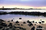 ancient traditional Hawaiian fishponds, Kaloko-Honokohau National Historic Park, Kona, Hawaii, USA ( Central Pacific Ocean )