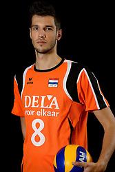 25-04-2013 VOLLEYBAL: NEDERLANDS MANNEN VOLLEYBALTEAM: ROTTERDAM<br /> Selectie Oranje mannen seizoen 2013-2014 / Bas van Bemmelen<br /> ©2013-FotoHoogendoorn.nl