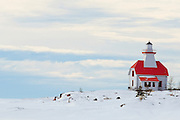 Lighthouse on Gerogian Bay (Lake Huron)<br /> <br /> Snug Harbour<br /> Canada
