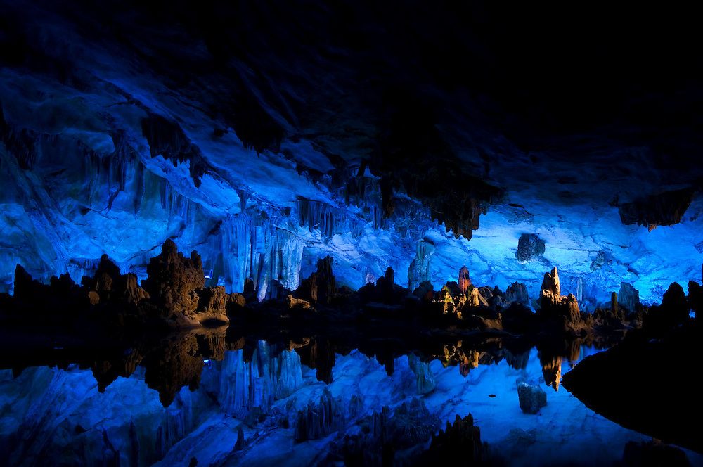 Guilin:Inside Reed Flute Cave