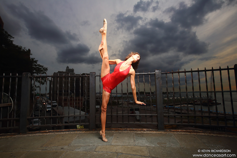 Dance As Art New York City Photography Project Brooklyn Heights Promenade Series with dancer Lucy Postell