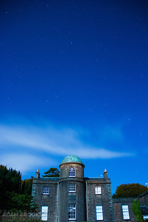 The night Sky over Armagh Observatory taken once the clouds starting rolling in at the end of my star trails image (next picture)
