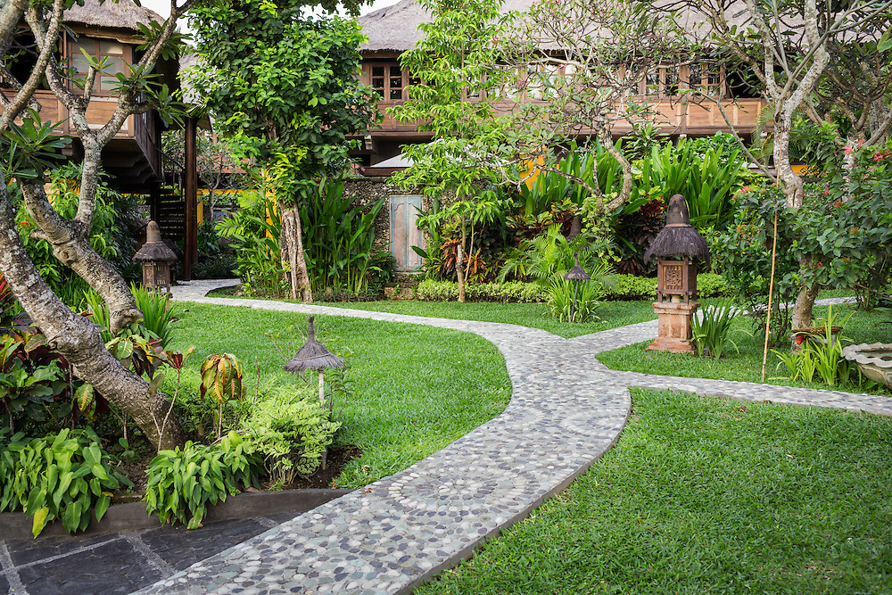 Pathway at Tugu Hotel Bali.