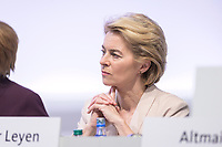 22 NOV 2019, LEIPZIG/GERMANY:<br /> Ursula von der Leyen, CDU, gewaehlte Praesidentin der Europaeischen Kommission, CDU Bundesparteitag, CCL Leipzig<br /> IMAGE: 20191122-01-041<br /> KEYWORDS: Parteitag, party congress
