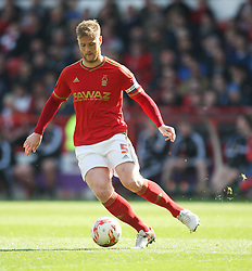 Matthew Mills of Nottingham Forest in action - Mandatory by-line: Jack Phillips/JMP - 02/04/2016 - FOOTBALL - City Ground - Nottingham, England - Nottingham Forest v Brentford - Sky Bet Championship