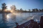 Fishing at Kenai River, Alaska, USA
