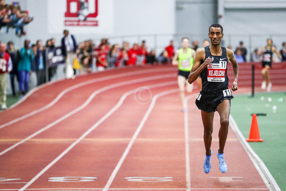 Bruce LeHane Invitational Mile<br /> Yomif Kejelcha, Nike Oregon Project, attempts to set world record indoor mileBruce LeHane Invitational Mile<br /> Yomif Kejelcha, Ethiopia, Nike Oregon Project, breaks world record indoor mile 3:47.01
