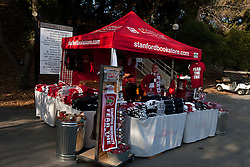 Nov 12, 2011; Stanford CA, USA;  General view of a merchandise tent selling Stanford Cardinal gear before the game against the Oregon Ducks at Stanford Stadium.  Oregon defeated Stanford 53-30. Mandatory Credit: Jason O. Watson-US PRESSWIRE
