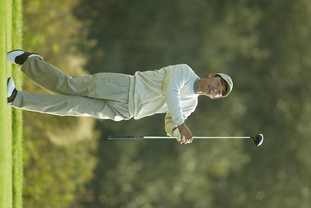 Kenichi Kuboya..2003 PGA Tour Qualifying, Final Stage.Fourth Round.Orange County National GC.Orlando, FL.Saturday, December 6  2003..Photograph by Darren Carroll..