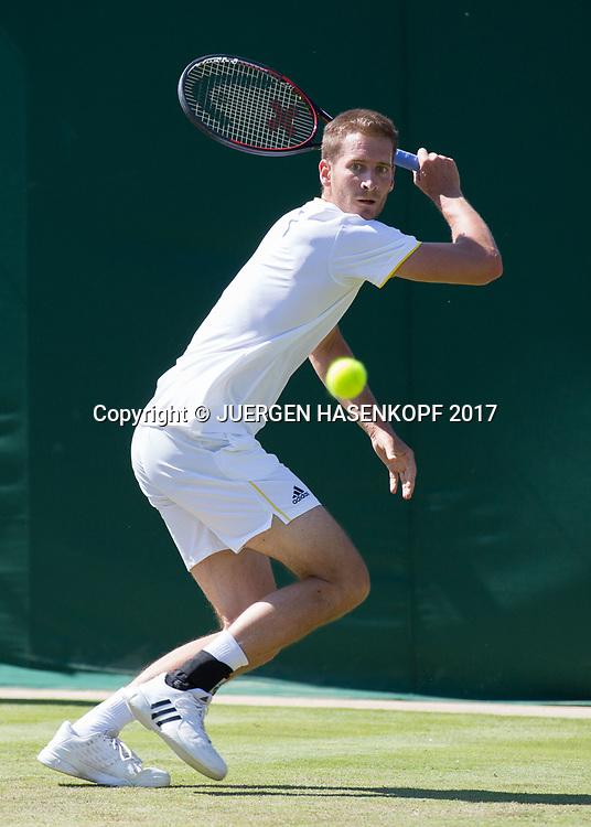 FLORIAN MAYER (GER)<br /> <br /> Tennis - Wimbledon 2016 - Grand Slam ITF / ATP / WTA -  AELTC - London -  - Great Britain  - 5 July 2017.