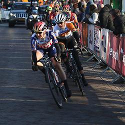 13-03-2016: Wielrennen: Acht van Dwingeloo: Dwingeloo <br />DWINGELOO (NED) wielrennen. <br />Marianne Vos werd tiende bij haar rentree in het peloton, tijdens de Acht van Westerveld rond Dwingeloo