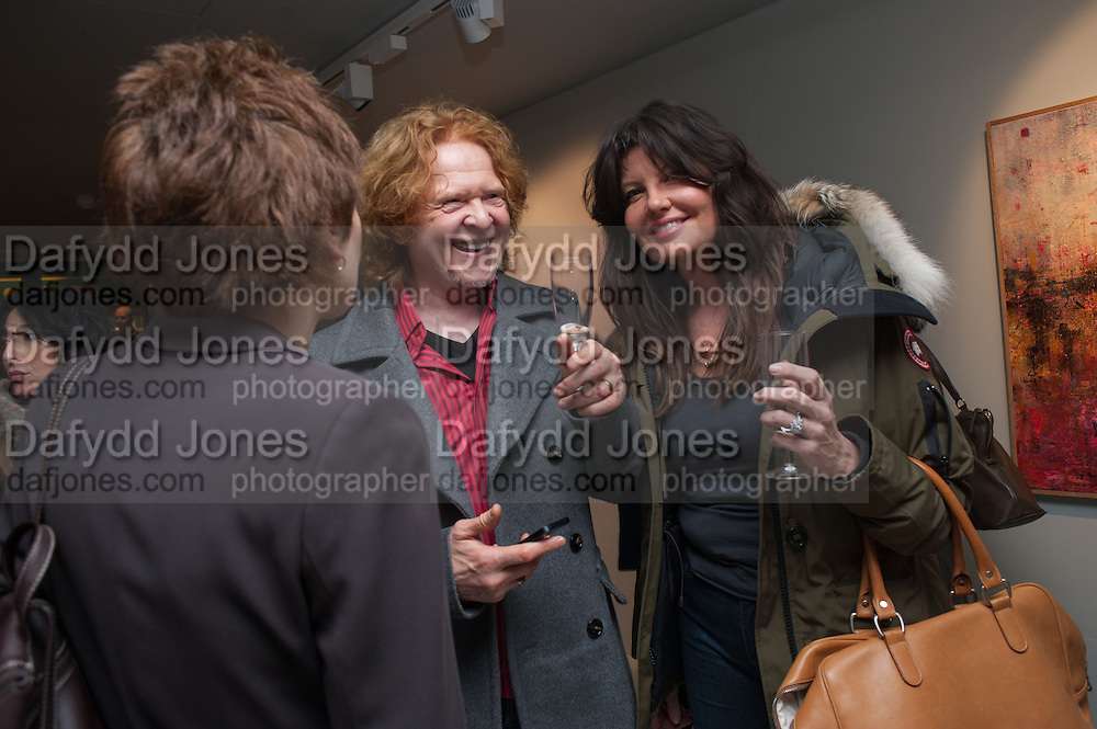 MICK HUCKNALL; GABRIELLA WESBERRY, BILL WYMAN - REWORKED' , Photographs by Bill Wyman and reworks by Gerald Scarfe, Pam Glew, Dale Marshall, Penny and James Mylne, Rook & Raven Gallery: 7-8 Rathbone Place, London. 26 February 2013