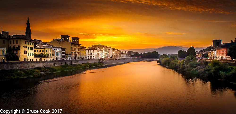 View of the Arno River 2