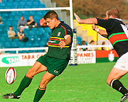 Zurich Premiership,  LONDON IRISH V LEICESTER,17-11-2001 Action from the London Irish vs Leicester Tiger Game played at the Stoop Ground Twickenham. [Mandatory Credit: Peter Spurrier; Intersport Images.com]