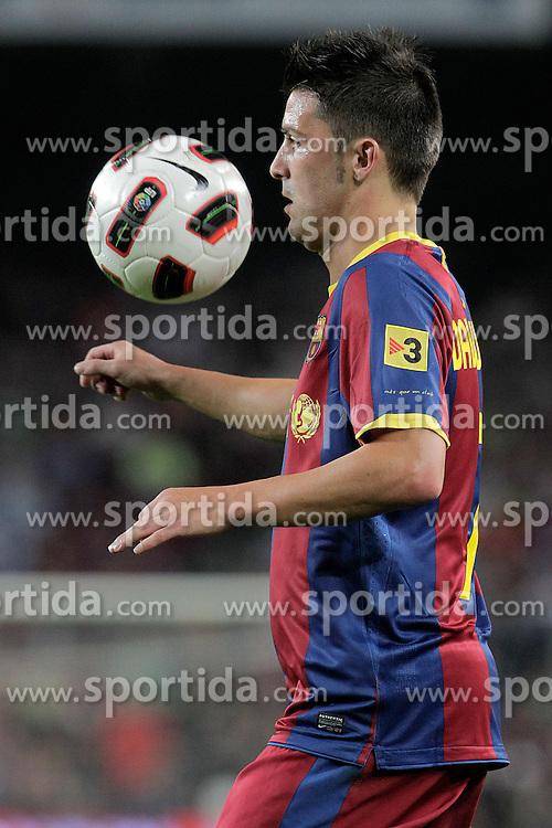 22.09.2010, Camp Nou, Madrid, ESP, Primera Division, FC Barcelona vs Sporting Gijon, im Bild FC Barcelona's David Villa  during La Liga match. EXPA Pictures © 2010, PhotoCredit: EXPA/ Alterphotos/ Acero +++++ ATTENTION - OUT OF SPAIN / ESP +++++ / SPORTIDA PHOTO AGENCY