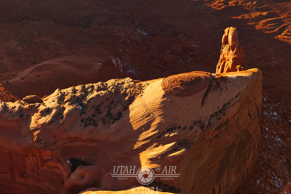 Spearhead Mesa in Monument Valley