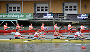 Duisburg, GERMANY.  FISA Masters World Championship. .Wedau Regatta Course .13:34:43  Thursday  06/09/2012   ..[Mandatory Credit Peter Spurrier:  Intersport Images]  ..Rowing, Masterss, 2012010459.jpg...