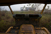 Barbacena_MG, Brazil.<br /> <br /> Veiculo abandonado na rodovia BR 265 em Barbacena, Minas Gerais.<br /> <br /> Vehicle abandoned in the highway BR 265 in Barbacena, Minas Gerais.<br /> <br /> Foto: LEO DRUMOND / NITRO