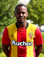 Kevin Fortune during photoshooting of RC Lens for new season 2017/2018 on October 5, 2017 in Lens, France<br /> Photo by RC Lens / Icon Sport