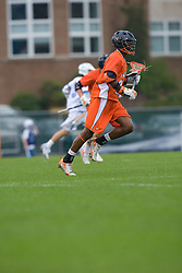 05 April 2008: Virginia Cavaliers midfielder Will Barrow (23) during a 11-12 OT win over the North Carolina Tar Heels on Fetzer Field in Chapel Hill, NC.
