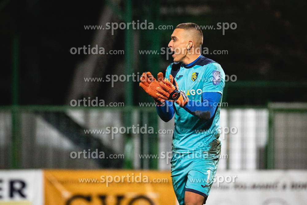 Igor Vekić of Bravo during football match between NŠ Mura and NK Bravo in 20th Round of Prva liga Telekom Slovenije 2019/20, on December 5, 2019 in Fazanerija, Murska Sobota, Slovenia. Photo by Blaž Weindorfer / Sportida