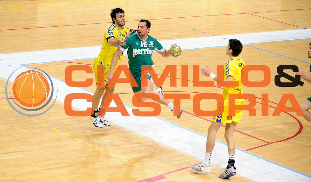 DESCRIZIONE : France Ligue Hand D1 Toulouse Nimes 26/03/2010 Toulouse<br /> GIOCATORE : Burdet Cedric<br /> SQUADRA : Nimes <br /> EVENTO : France Ligue Hand D1 Toulouse Nimes<br /> GARA : Toulouse Nimes<br /> DATA : 26/03/2010<br /> CATEGORIA : Handball Nimes Homme<br /> SPORT : Handball<br /> AUTORE : JF Molliere par Agenzia Ciamillo-Castoria <br /> Galleria : France Ligue Hand D1 Homme 2009/2010  <br /> Fotonotizia : France Ligue Hand D1 Toulouse Nimes 26/03/2010 Cesson<br /> Predefinita :