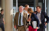 DEU, Deutschland, Germany, Berlin, 31.05.2018: Pressekonferenz der Partei Alternative für Deutschland (AfD) im AfD-Fraktionssitzungssaal im Deutschen Bundestag.  Beatrix von Storch, Alexander Gauland und Stephan Brandner informieren über den Antrag zum Untersuchungsausschuss zur Asyl- und Migrationspolitik.
