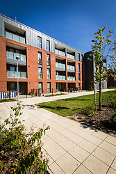New housing, Tottenham, London UK