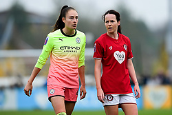 Tessa Wullaert of Manchester City Women and Olivia Chance of Bristol City Women  - Mandatory by-line: Ryan Hiscott/JMP - 24/11/2019 - FOOTBALL - Stoke Gifford Stadium - Bristol, England - Bristol City Women v Manchester City Women - Barclays FA Women's Super League