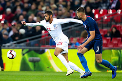 Ruben Loftus-Cheek of England takes on Matt Miazga of USA - Mandatory by-line: Robbie Stephenson/JMP - 15/11/2018 - FOOTBALL - Wembley Stadium - London, England - England v United States of America - International Friendly