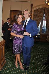 NATALIE PINKHAM and OWAIN WALBYOFF at a reception for The Mirela Fund in partnership with Hope and Homes for Children hosted by Natalie Pinkham in The Churchill Room, House of Commons, London on 30th April 2013.