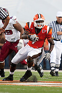 September 3, 2009:  7 Freddie Barnes of the Bowling Green Falcons during the NCAA footbal game game between Trpy Trojans and BGSU Falcons atDoylt Perry Stadium in Bowling Green, Ohio