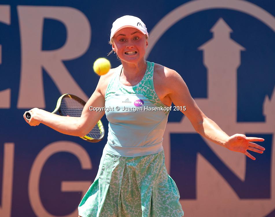 Aliaksandra Sasnovich (BLR)<br /> <br /> Tennis - Gastein Ladies 2015 - WTA -  Europaeischer Hof - Bad Gastein -  - Oesterreich - 22 July 2015. <br /> &copy; Juergen Hasenkopf