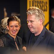 NLD/Utrecht/20150923 - Opening NFF 2015, filmpremiere J. Kessels, Thomas Acda en partner Esmee Wekker