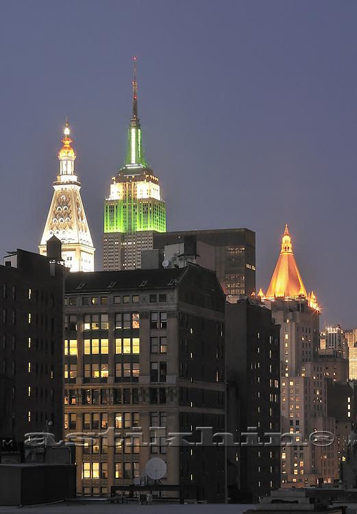 Roofs of Manhattan