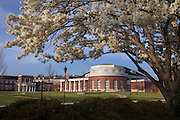 Walter Hall in the Spring at Ohio University.  Photo by Ohio University / Jonathan Adams