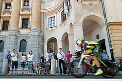 Spectators during chronometer (17,8km) of Tour de Slovenie 2012, on June 17 2012, in Ljubljana, Slovenia. (Photo by Urban Urbanc / Sportida.com)