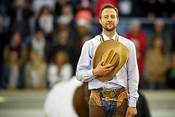 Ludwig Grischa, (GER)<br /> Reining individual<br /> European Championships - Aachen 2015<br /> © Hippo Foto - Dirk Caremans<br /> 16/08/15