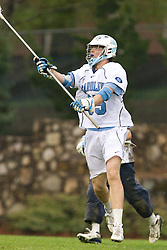 05 April 2008: North Carolina Tar Heels defenseman Ryan Flanagan (35) during a 11-12 OT loss to the Virginia Cavaliers on Fetzer Field in Chapel Hill, NC.