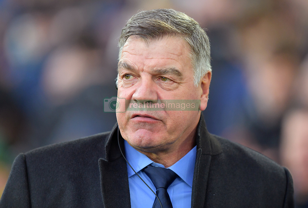 "Everton manager Sam Allardyce before the Premier League match at Goodison Park, Liverpool. PRESS ASSOCIATION Photo Picture date: Saturday December 2, 2017. See PA story SOCCER Everton. Photo credit should read: Dave Howarth/PA Wire. RESTRICTIONS: EDITORIAL USE ONLY No use with unauthorised audio, video, data, fixture lists, club/league logos or ""live"" services. Online in-match use limited to 75 images, no video emulation. No use in betting, games or single club/league/player publications."