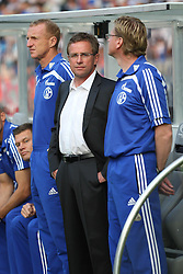 21.05.2011, Olympia Stadion, Berlin, GER, DFB Pokal Finale 2011,  MSV Duisburg vs Schalke 04, im Bild Ralf Rangnick (Schalke 04-Trainer)   // during the DFB Cup final 2011 MSV Duisburg vs. Schalke 04 at the Olympic Stadium, Berlin, 21/05/2011 EXPA Pictures © 2011, PhotoCredit: EXPA/ nph/  Hammes       ****** out of GER / SWE / CRO  / BEL ******