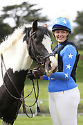 Hannah Findlay with her course Meadowvale Galaxy during the International Horse Trials at Chatsworth, Bakewell, United Kingdom on 12 May 2018. Picture by George Franks.