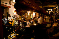 La Vitrola in Cartagena, Colombia ..Photo by Robert Caplin..