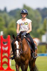 Klaphake Laura, GER, Carmina 51<br /> CHIO Aachen 2018<br /> © Hippo Foto - Sharon Vandeput<br /> 20/07/18