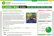 2015 03 30 Tearsheet Oxfam Australia Support female food heroes Indonesia