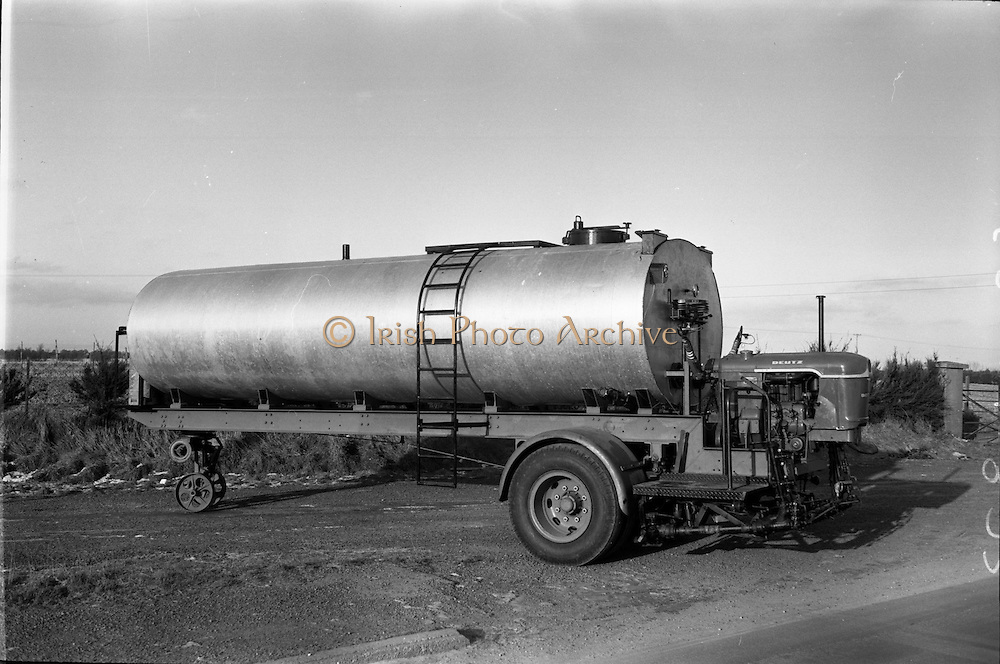 17/01/1963<br /> 01/17/1963<br /> 17 January 1963<br /> Tanker trailer at McNeills, Collinstown Cross, Dublin.
