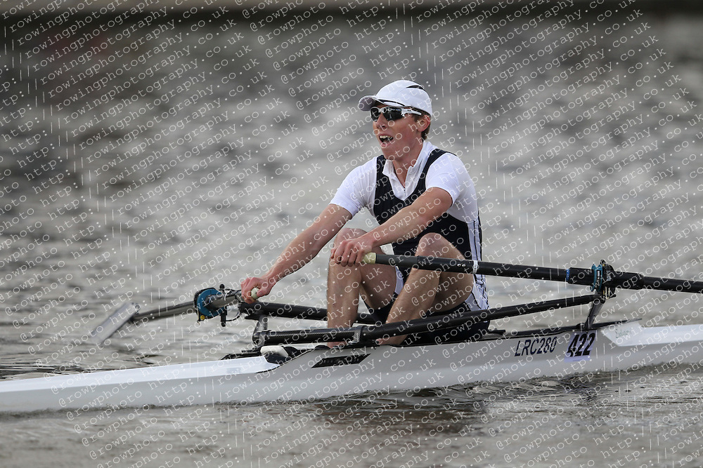 2012.09.29 Wallingford Long Distance Sculls 2012. Division 3. IM1 1x. London Rowing Club.